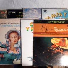 Discos de vinilo: 9 LP DE MUSICA MEJICANA RANCHERAS (NUEVOS). Lote 241187770