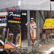 Discos de vinilo: 7 LP FRANCK POURCEL (2 DOBLES). Lote 241191185