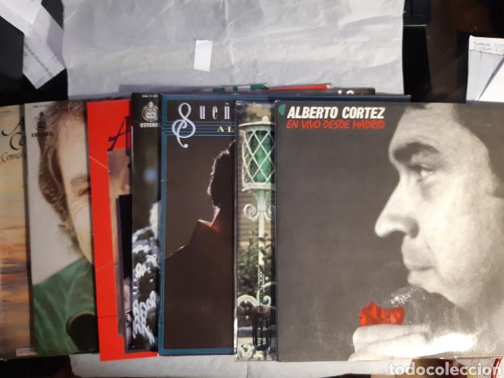 7 LP ALBERTO CORTEZ NUEVOS (Música - Discos - LP Vinilo - Cantautores Internacionales)