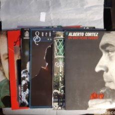 Discos de vinilo: 7 LP ALBERTO CORTEZ NUEVOS. Lote 241192375