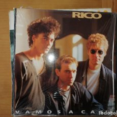 Discos de vinilo: DISCO DE VINILO GRUPO RICO-VAMOS A CASA. Lote 241193150