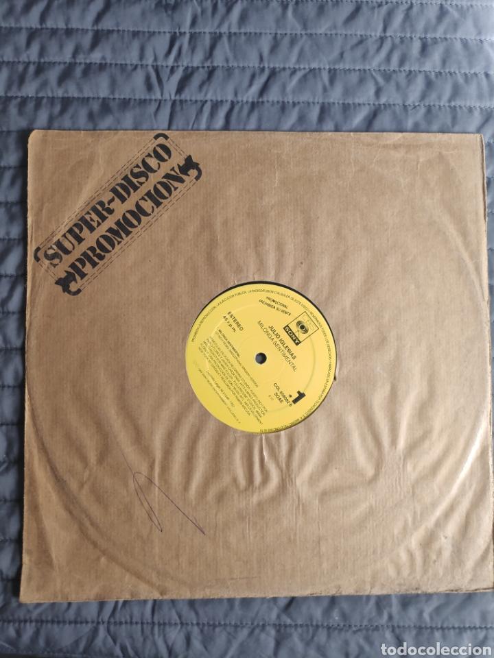 Discos de vinilo: Vinilo maxi single promo - Julio Iglesias - Milonga sentimental - Foto 3 - 241196465
