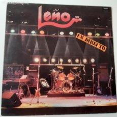 Dischi in vinile: LEÑO - EN DIRECTO - LP 1981 - VINILO CASI NUEVO.. Lote 241204420