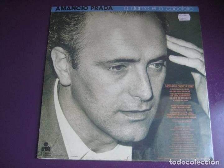 Discos de vinilo: AMANCIO PRADA - A DAMA E O CABALEIRO -POEMAS ALVARO CUNQUEIRO - LP ARIOLA - GALICIA FOLK POP - Foto 2 - 241227750