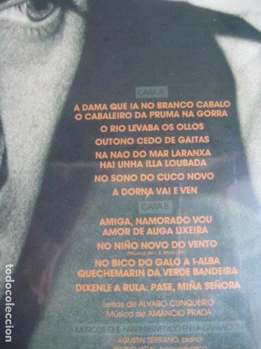 Discos de vinilo: AMANCIO PRADA - A DAMA E O CABALEIRO -POEMAS ALVARO CUNQUEIRO - LP ARIOLA - GALICIA FOLK POP - Foto 3 - 241227750