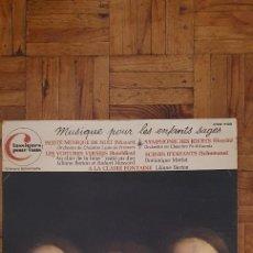 Discos de vinilo: MUSIQUE POUR LES ENFANTS SAGES LABEL: TRIANON – UTRE 6199 FORMAT: VINYL, LP, COMPILATION COUNTRY: F. Lote 241229265