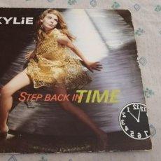 Discos de vinilo: VINILO KYLIE MINOGUE - STEP BACK IN TIME. Lote 241235565