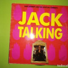 Discos de vinilo: LOTE 2 DISCOS. TRICKY-I TOUCHED IT Y DAVE STEWART AND THE SPIRITUAL COWBOYS-JACK TALKING. Lote 241251675