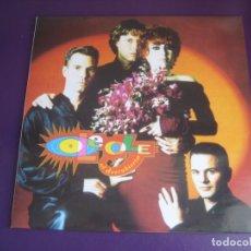 Disques de vinyle: OLE OLE – AL DESCUBIERTO - LP HISPAVOX 1992 - POP 80'S 90'S - SIN USO. Lote 241254160
