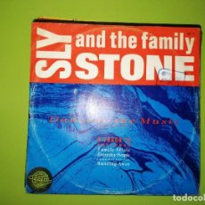 Discos de vinilo: LOTE 2 DISCOS. THE U.F.I.-UNDERTAND THIS GROOVE(I REALLY LOVE YOU) Y SLY STONE AND THE FAMILY. Lote 241254280