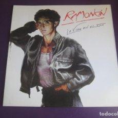 Discos de vinilo: RAMONCÍN – LA VIDA EN EL FILO - LP EMI 1986 - ROCK URBANO 70'S 80'S - BRIAN MAY QUEEN. Lote 241262215