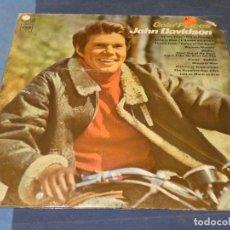 Discos de vinilo: EXPRO LP USA CIRCA 1966 JOHN DAVIDSON GOING PLACES LEVES EÑALES DE USO ACEPTABLE. Lote 241262415
