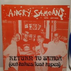 Discos de vinilo: ANGRY SAMOANS. RETURN TO SAMOA (OUT TAKES/LOST TAPES). YEAH-UP 008. Lote 241272340