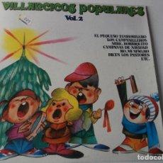 Discos de vinilo: VILLANCICOS CON ZAMBOMBA Y PANDERETA VOL.2 1981. Lote 241274115