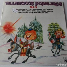 Discos de vinilo: VILLANCICOS CON ZAMBOMBA Y PANDERETA VOL.3, 1981,. Lote 241274860