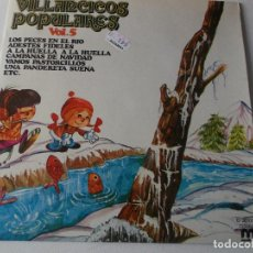 Discos de vinilo: VILLANCICOS CON ZAMBOMBA Y PANDERETA VOL.5, 1981. Lote 241275650
