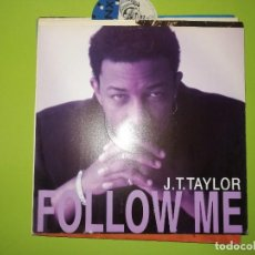 Discos de vinilo: LOTE 2 DISCOS. CHAKA-LOVE YOU ALL MY LIFETIME Y J.T.TAYLOR-FOLLOW ME. Lote 241276270