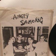 Discos de vinilo: ANGRY SAMOANS, RETURN TO SAMOA. YEAH HU 008 PROMO, SHAKIN STREET RECORDS, 1990.. Lote 241277845