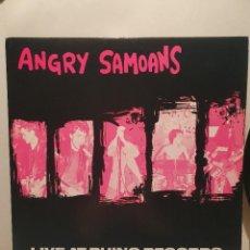 Discos de vinilo: ANGRY SAMOANS. LIVE AT RHINO RECORDS. LP 1990. TRIPLE XXX RÉCORDS. Lote 241280180