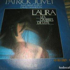 Discos de vinilo: PATRICK JUVET - LAURA B.S.O. - SINGLE ORIGINAL ESPAÑOL - BARCLAY RECORDS 1979 - MUY NUEVO (5).. Lote 241294545
