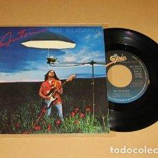 Discos de vinilo: ANTONIO FLORES - NO DUDARIA - SINGLE - 1980. Lote 117960411