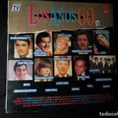 Discos de vinilo: DISCO TRIPLE LP-LOS AÑOS 60-2 -AÑO 1990. Lote 241419245