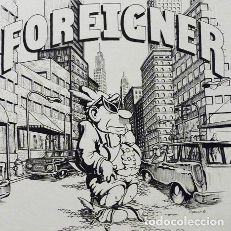 Discos de vinilo: Foreigner - First Time Around / Mega Rare Boot From The Concert In Boston 1977 - Foto 11 - 241428945