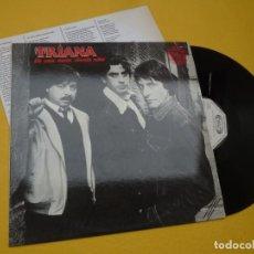 "Discos de vinilo: MAXI SINGLE 12"" TRIANA – DE UNA NANA SIENDO NIÑO - PROMO - INSERT (EX+/EX+) Ç*. Lote 241429565"