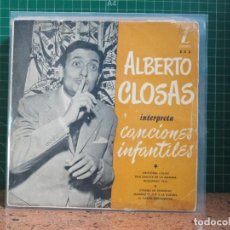 Discos de vinilo: ALBERTO CLOSAS - INTERPRETA CANCIONES INFANTILES - ZAFIRO Z-E 3 + ZAFIRO Z-E 5. Lote 241430460