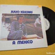 Discos de vinilo: LP JULIO IGLESIAS – A MEXICO - SPAIN - 1975 - GATEFOLD - PROMO (EX+/EX+) Ç*. Lote 241431205