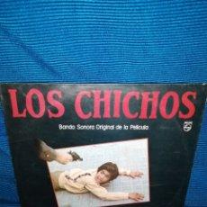 Discos de vinilo: LP LOS CHICHOS, YO EL VAQUILLA, BSO DE LA PELÍCULA, PHILLIPS. Lote 241467670