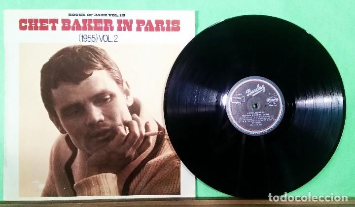 CHET BAKER IN PARIS VOL. 2 - HOUSE OF JAZZ VOL. 13 - LIMPIO,TRATADO CON ALCOHOL ISOPROPÍLICO (Música - Discos - LP Vinilo - Jazz, Jazz-Rock, Blues y R&B)