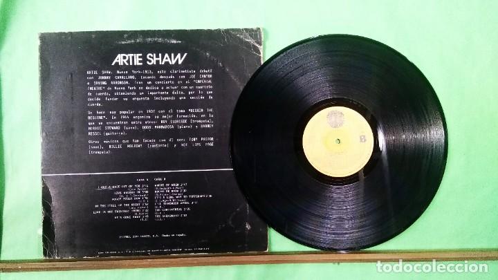 Discos de vinilo: ARTIE SHAW 3.CON SWING 26 - LIMPIO,TRATADO CON ALCOHOL ISOPROPÍLICO - Foto 2 - 241480590