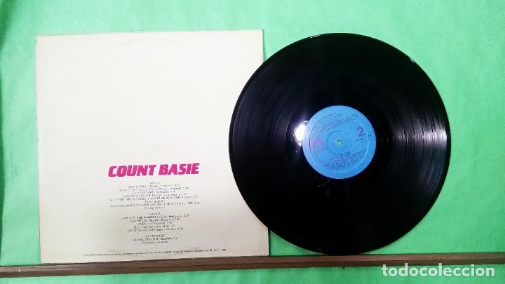 Discos de vinilo: COUNT BASIE. GRANDES DEL JAZZ VOL. 3 - LIMPIO,TRATADO CON ALCOHOL ISOPROPÍLICO - Foto 2 - 241480830
