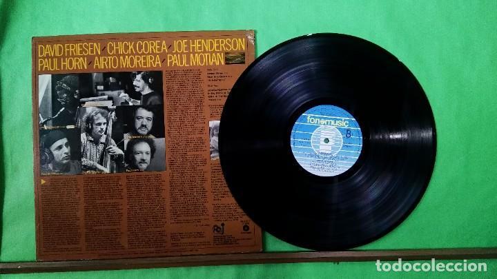 Discos de vinilo: CHICK COREA Y OTROS. AMBER SKIES - LIMPIO,TRATADO CON ALCOHOL ISOPROPÍLICO - Foto 2 - 241481940