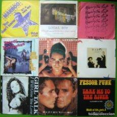 Discos de vinilo: LOTE 9 SINGLES (FESSOR FUNK, GAZEBO, HABIT, MR. BLUNT,HAYSI FANTAYZEE, GIRL TALK, MARBOO.... Lote 241487030
