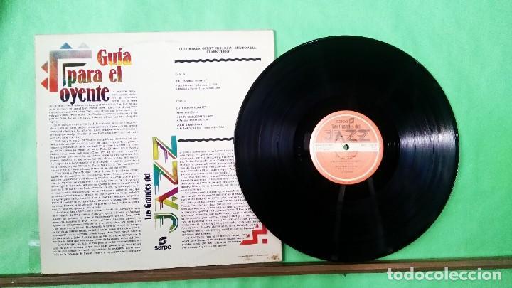 Discos de vinilo: GERRY MULLIGAN/CHET BAKER.OTROS . Grandes del jJazz 8 - LIMPIO,TRATADO CON ALCOHOL ISOPROPÍLICO - Foto 2 - 241490980