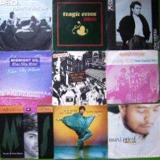 Discos de vinilo: LOTE 9 SINGLES:TRAGIC ERROR, MIDNIGHT OIL, MONKAYA, NIK KERSAW, MAXI PRIEST, MICHAEL SMITH,. Lote 241491400