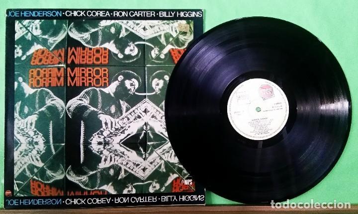 CHICK COREA .JOE HENDERSON. MIRROR - LIMPIO,TRATADO CON ALCOHOL ISOPROPÍLICO (Música - Discos - LP Vinilo - Jazz, Jazz-Rock, Blues y R&B)