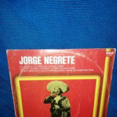 Discos de vinilo: LP JORGE NEGRETE, LÍNEA TRES, AY JALISCO, NO TE RAJES.. Lote 241493915
