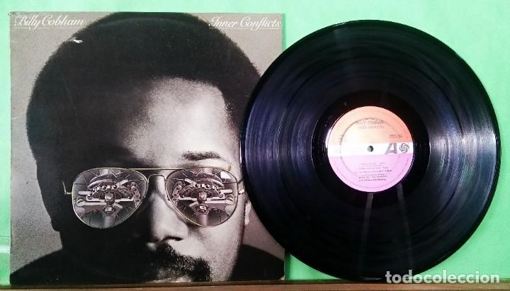 BILLY COBBHAM. INNER CONFLICTS- LIMPIO,TRATADO CON ALCOHOL ISOPROPÍLICO (Música - Discos - LP Vinilo - Jazz, Jazz-Rock, Blues y R&B)