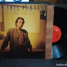 Discos de vinilo: JOSE LUIS PERALES- LP CON EL PASO DEL TIEMPO- ENCARTE INTERIOR- CBS 1986 PEPETO. Lote 241501205