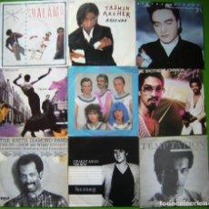 Discos de vinilo: LOTE 9 SINGLES: SHALAMAR,TASMIN ARCHER, STEPHEN TINTIN DUFFY, BROTHERS JOHNSON,DEBLANC,NICK STRAKER. Lote 241503615