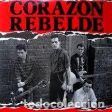 Discos de vinilo: CORAZON REBELDE – ADONDE VAN / BARCELONA – MAXI – A ESTRENAR. Lote 241505305
