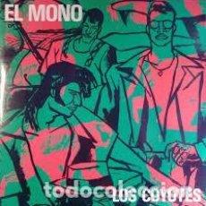 Discos de vinilo: LOS COYOTES – EL MONO. MAXI SINGLE – A ESTRENAR. Lote 241510240