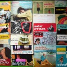 Discos de vinilo: LOTE DE 21 SINGLES Y EPS INSTRUMENTALES. Lote 241516430