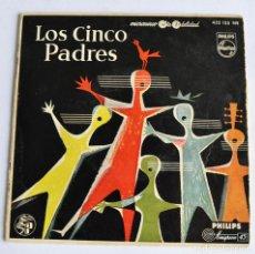 Discos de vinil: LOS CINCO PADRES. EP, 4 TEMAS. PHILIPS. 1958. BRAHMS, ROSSINI, GERSHWIN...MICROSURCO. BARCELONA. Lote 241517105