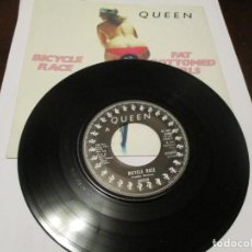 Disques de vinyle: QUEEN - SINGLE - FAT BOTTOM GIRLS - BICYCLE RACE - JAZZ - EDICION FRANCESA 2C 008 61846. Lote 241527125