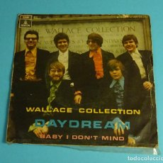 Discos de vinilo: SINGLE. WALLACE COLLECTION. DAYDREAM / BABY I DON'T MIND. ODEON 1969. Lote 241527160