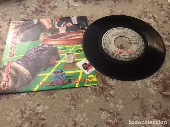 BARÓN ROJO (TRAVESÍA URBANA) (Música - Discos - Singles Vinilo - Grupos Españoles de los 70 y 80)